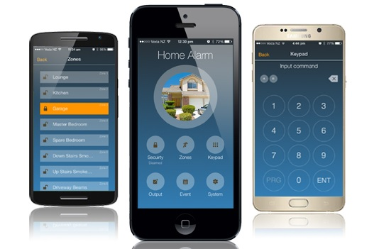 Alarmsysteem App Home